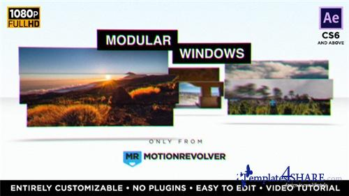Modular Windows Slideshow Presentation - After Effects Project (Videohive)