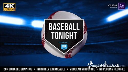 Baseball Tonight Graphics Package - After Effects Project (Videohive)