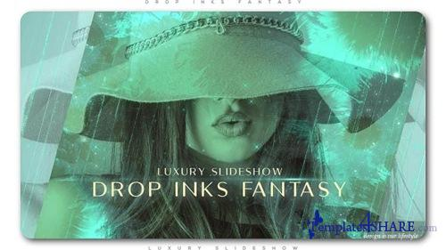 Drop Inks Fantasy Luxury Slideshow - After Effects Project (Videohive)