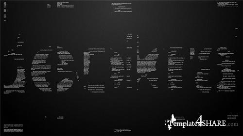 Text Logo - After Effects Project (Videohive)