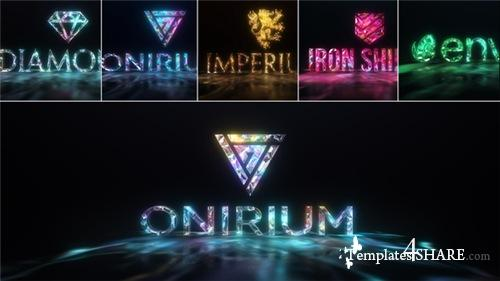Gems & Lights - Gemstones Logo Reveal Pack - After Effects Project (Videohive)
