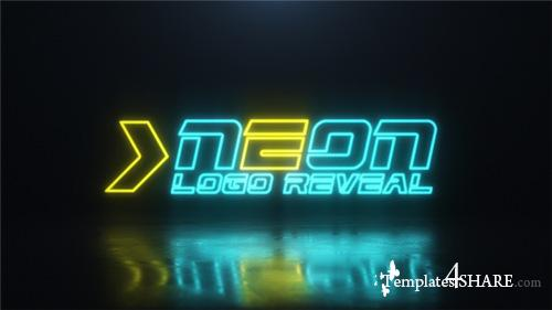 Neon Logo 21781367 - After Effects Project (Videohive)