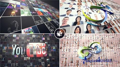 Multi Video 3D Logo - After Effects Project (Videohive)