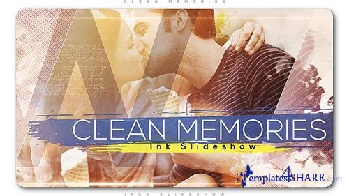 Clean Memories Inks Slideshow - After Effects Project (Videohive)