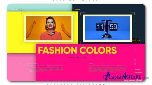 Fashion Colors Elegance Slideshow - After Effects Project (Videohive)
