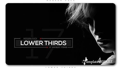 Modern Lower Thirds Pack - After Effects Project (Videohive)