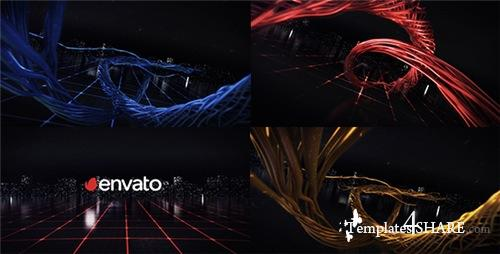 Digital Wire Ribbon Logo Reveals - After Effects Project (Videohive)