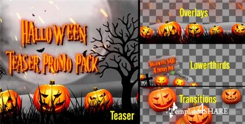 Halloween Teaser Promo Pack - After Effects Project (Videohive)