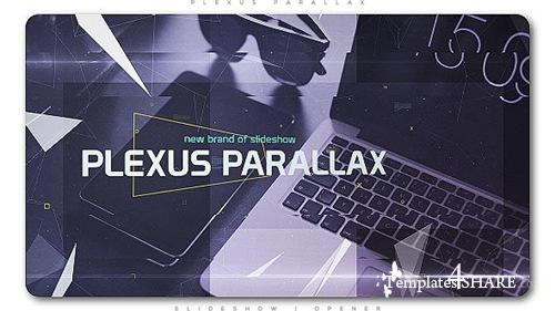 Plexus Parallax Slideshow | Opener - After Effects Project (Videohive)