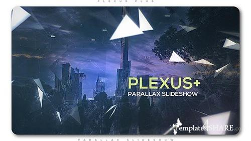 Plexus Plus Parallax Slideshow - After Effects Project (Videohive)
