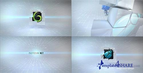Clean Cubes Logo Reveal - After Effects Project (Videohive)
