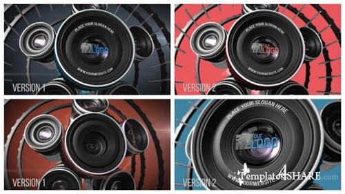 Photography Lens Logo 2 - After Effects Project (Videohive)