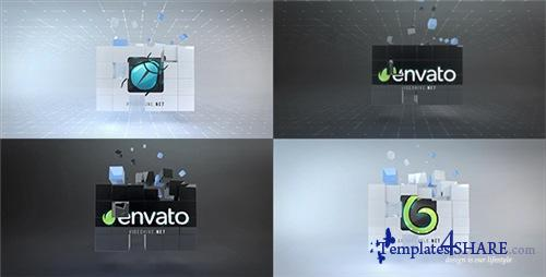 Corporate Cubes Logo Reveal - After Effects Project (Videohive)