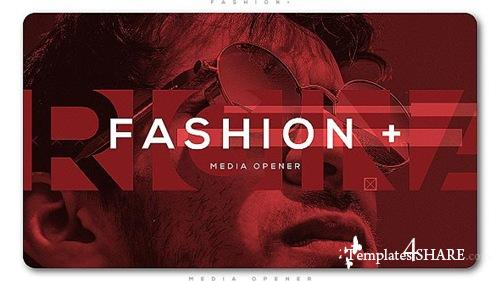 Fashion Plus Media Opener - After Effects Project (Videohive)