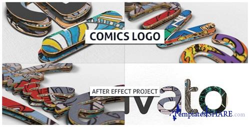 Comics Logo - After Effects Project (Videohive)