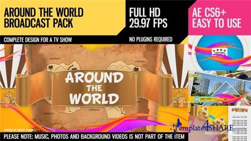 Around The World (Broadcast Pack) - After Effects Project (Videohive)