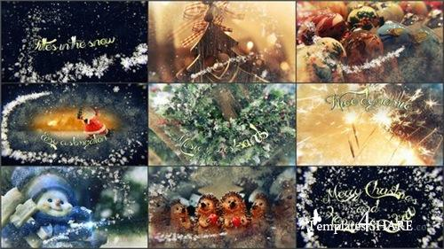Titles in the Snow - After Effects Project (Videohive)