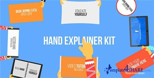 Hand Explainer Kit - After Effects Project (Videohive)