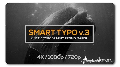 Smart Typography Opener - After Effects Project (Videohive)