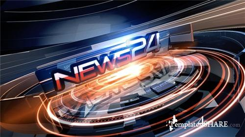 News 24 Package - After Effects Project (Videohive)