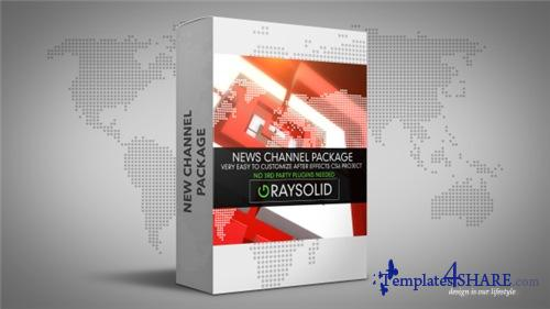 Square News Package - After Effects Project (Videohive)
