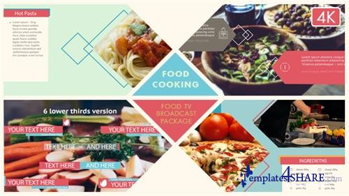 Food Broadcast Package - After Effects Project (Videohive)