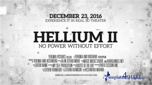 Helium - Cinematic Trailer - After Effects Project (Videohive)
