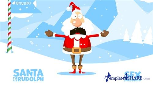 Christmas Logo Opener 1 - snowball - After Effects Project (Videohive)
