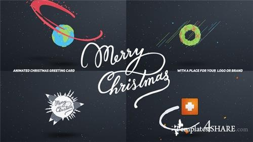 Christmas Card Cartoon - After Effects Project (Videohive)