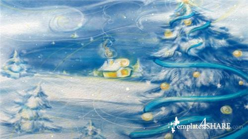 Christmas and New Year Video Card - After Effects Project (Videohive)