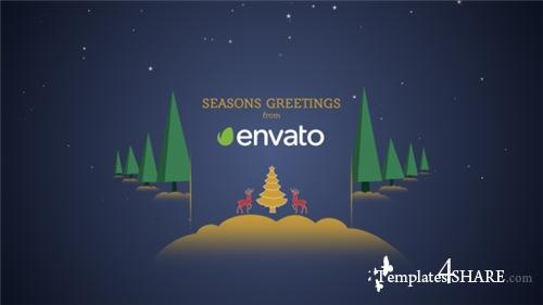 Parallax Christmas Greetings 21009108 - After Effects Project (Videohive)