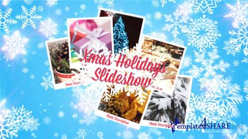 Xmas Holidays Slideshow - After Effects Project (Videohive)
