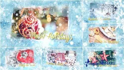 Winter Holidays Slideshow 13960136 - After Effects Project (Videohive)