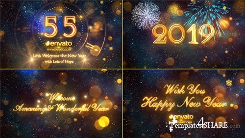New Year Countdown 2019 - After Effects Project (Videohive)