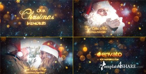 Christmas Memories - Slideshow - After Effects Project (Videohive)