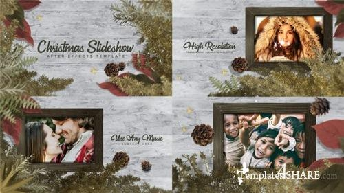 Christmas - A Slideshow - After Effects Project (Videohive)