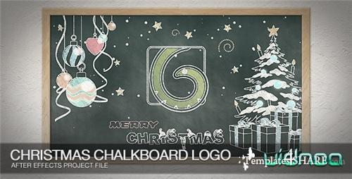 Christmas Chalkboard Logo - After Effects Project (Videohive)