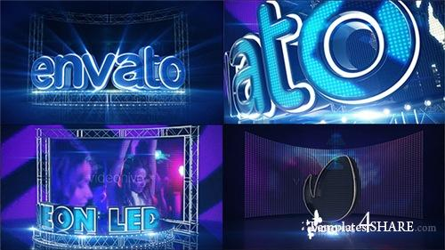LED Neon Screen - After Effects Project (Videohive)