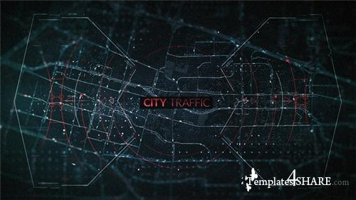 City Traffic Trailer - After Effects Project (Videohive)