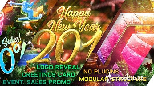 New Year Pack - Logo Reveal, Sale and Event Promo - After Effects Project (Videohive)