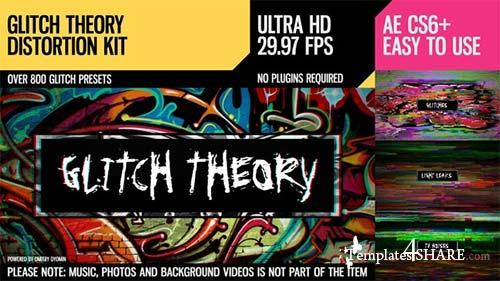 Glitch Theory (UltraHD Distortion Kit) - After Effects Project (Videohive)