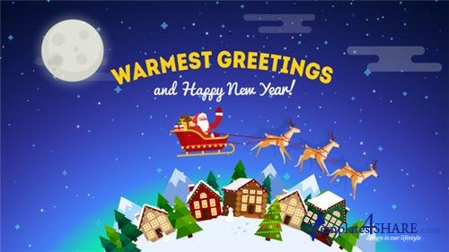 Christmas Greeting Card Opener - After Effects Project (Videohive)