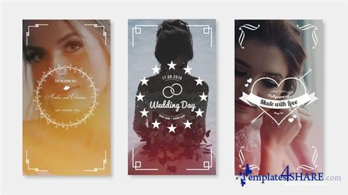 Wedding Instagram Stories - After Effects Project (Videohive)