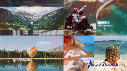 Travel Memories Slideshow - After Effects Project (Videohive)