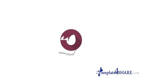 Flat Circular Logo - After Effects Project (Videohive)