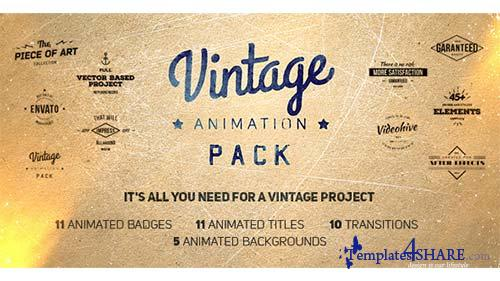 Vintage Animation Pack - After Effects Project (Videohive)