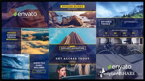 Stylish Slides and Titles - After Effects Project (Videohive)