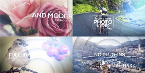 Epic Parallax Titles Opener - After Effects Project (Videohive)