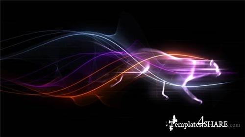 Colorful Trails Logo - After Effects Project (Videohive)