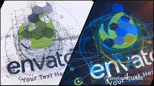 High Tech Logo V07 - After Effects Project (Videohive)